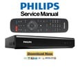 Thumbnail Philips HDR5750 HDR5710 Video Recorder Service Manual