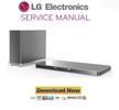 Thumbnail LG LAB540W Soundplate Service Manual and Repair Guide