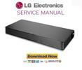 Thumbnail LG LAP240 Soundplate Service Manual and Repair Guide