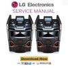 Thumbnail LG OM5541 X Boom Cube Service Manual and Repair Guide