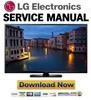 Thumbnail LG 60PB6650 UA  Service Manual and Repair Guide