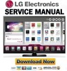 Thumbnail LG 60PB6600 TE  Service Manual and Repair Guide