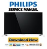Thumbnail Philips 65PUS9109 65PUS9809 55PUS9109 55PUS8909C Service Manual and Repair Guide
