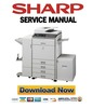Thumbnail Sharp MX-2301N 2600N 3100N 2600G 3100G Service Manual