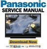 Thumbnail Panasonic PT-50LCX7K + 56LCX70-K Service Manual & Repair Guide