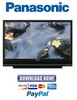 Thumbnail Panasonic PT-56LCX70 + PT-61LCX70 Service Manual & Repair Guide