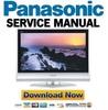 Thumbnail Panasonic TC-26LX60 32LX60 FULL Service Manual & Repair Guide