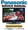 Thumbnail Panasonic TH-50PX75U Service Manual & Repair Guide
