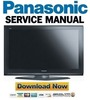 Thumbnail Panasonic TH-50PZ700U + 50PE700U Service Manual Repair Guide