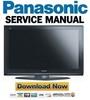 Thumbnail Panasonic TH-50PZ700U + TH-50PE700U Manual de Servicio