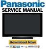Thumbnail Panasonic Viera TH-58PZ800 Service & Repair Manual