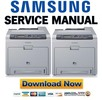 Thumbnail Samsung CLP-620ND 670N 670ND Service Manual & Repair Guide