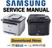 Thumbnail Samsung CLX-3170 + CLX-3175 Manuale Reparazione