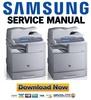 Thumbnail Samsung CLX-8380ND Service Manual & Repair Guide