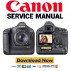 Thumbnail Canon EOS 1D Mark III 3 Service Manual & Repair Guide