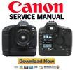 Thumbnail CANON EOS 1D Service Manual + Parts List Catalog