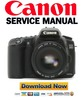 Thumbnail Canon EOS 20D Service Manual & Repair Guide