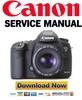 Thumbnail Canon EOS 5D Service Manual & Repair Guide + Parts Catalog