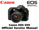 Thumbnail CANON EOS D30 Service Manual & Repair Guide