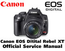 Thumbnail CANON EOS Digital Rebel XT Manuale Reparazione