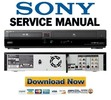 Thumbnail Sony RDR-VX555 Service Manual & Repair Guide