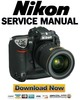 Thumbnail Nikon D2x Service Manual & Repair Guide + Parts List Catalog