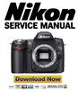 Thumbnail Nikon D80 Service Manual & Repair Guide + Parts List Catalog