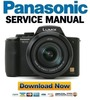 Thumbnail Panasonic Lumix DMC-FZ20 Service and Repair Manual