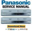 Thumbnail Panasonic DMR-EH75 + DMR-EH75VP Manuale Reparazione