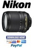Thumbnail Nikon AF S nikkor ED 18 105mm 3.5 5. 6G ED FULL Service Manual + Parts Catalog Manual