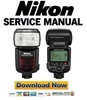 Thumbnail Nikon SB-900 Speedlight Service Manual + Parts List Catalog