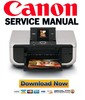 Thumbnail Canon Pixma MP600 Service Manual Package + Parts Catalog