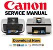 Thumbnail Canon Pixma MP810 MP960 Service Manual Pack + Parts Catalog Manual