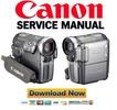 Thumbnail Canon HV10 HV10e Service Manual Repair Guide