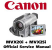 Thumbnail Canon MVX20i  + MVX25i (PAL) Service Manual & Repair Guide