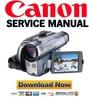 Thumbnail Canon MVX300 MVX300i MVX350i (PAL) Service Manual & Repair Guide