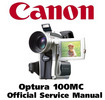 Thumbnail Canon Optura 100MC Service Manual & Repair Guide