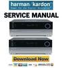 Thumbnail Harman Kardon AVR 435 + 635 Service Manual & Repair Guide