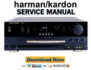 Thumbnail Harman Kardon AVR510 Service Manual & Repair Guide