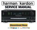 Thumbnail Harman Kardon AVR325 AVR 325 Service Manual & Repair Guide
