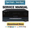 Thumbnail Harman Kardon AVR7000  Service Manual & Repair Guide