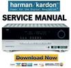Thumbnail Harman Kardon AVR 245 Service Manual & Repair Guide