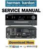 Thumbnail Harman Kardon AVR220 Service Manual & Repair Guide
