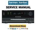 Thumbnail Harman Kardon AVR7200  Service Manual & Repair Guide