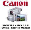 Thumbnail Canon MVX1 S  + MVX1 Si (PAL) Service Manual & Repair Guide