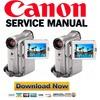 Thumbnail Canon MVX10i PAL Service and Repair Manual