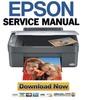 Thumbnail Epson Stylus CX3700 CX3800 CX3805 CX3810 Service Manual + Reset & Adjustment Software