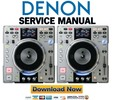 Thumbnail Denon DN-S3500 Service Manual & Repair Guide