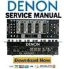 Thumbnail Denon DN-X500 Service Manual & Repair Guide