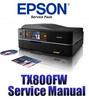 Thumbnail Epson Stylus Photo TX800FW Service Manual & Repair Guide